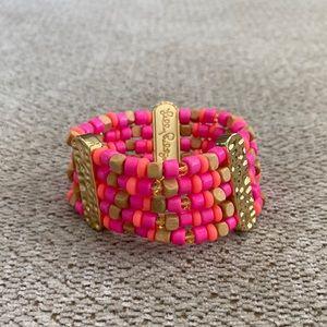 Lilly Pulitzer Beaded Stretch Bracelet